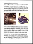 Measuring Differential Expansion on Large Steam Turbines
